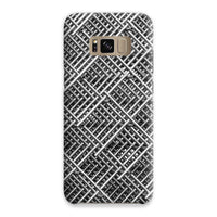 Abstract Gray Geometrical Phone Case Samsung S8 / Snap Gloss & Tablet Cases