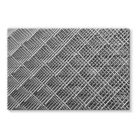 Abstract Gray Geometrical Stretched Eco-Canvas 36X24 Wall Decor