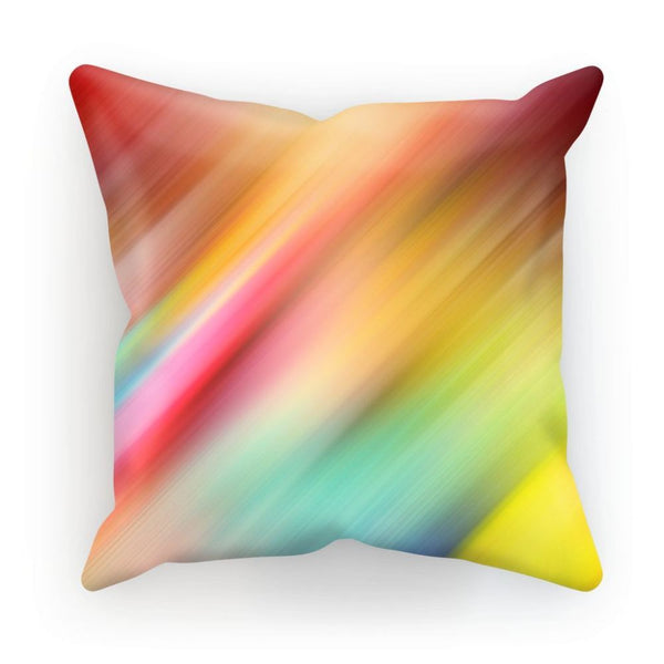 Abstract Of Multiple Colors Cushion Linen / 12X12 Homeware