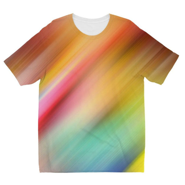 Abstract Of Multiple Colors Kids Sublimation T-Shirt 3-4 Years Apparel