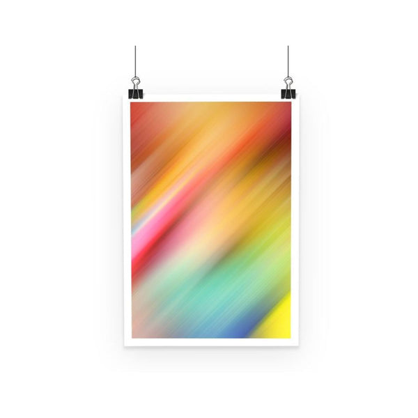 Abstract Of Multiple Colors Poster A3 Wall Decor