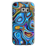 Abstract Oil Pattern Phone Case Galaxy S6 Edge / Tough Gloss & Tablet Cases