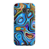 Abstract Oil Pattern Phone Case Galaxy S7 Edge / Tough Gloss & Tablet Cases