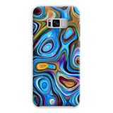 Abstract Oil Pattern Phone Case Samsung S8 Plus / Snap Gloss & Tablet Cases