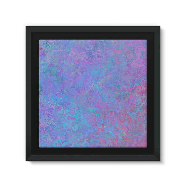 Abstract Pink Design Framed Canvas 12X12 Wall Decor