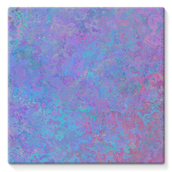 Abstract Pink Design Stretched Canvas 10X10 Wall Decor
