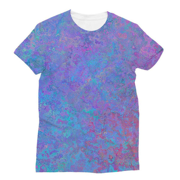 Abstract Pink Design Sublimation T-Shirt Xs Apparel