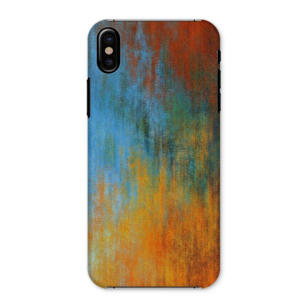 Abstract Tri Color Painting Phone Case Iphone X / Snap Gloss & Tablet Cases
