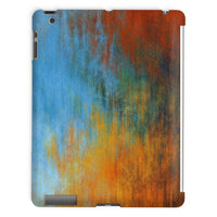 Abstract Tri Color Painting Tablet Case Ipad 2 3 4 Phone & Cases