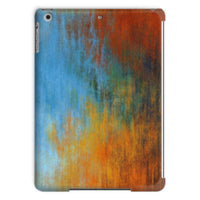 Abstract Tri Color Painting Tablet Case Ipad Air Phone & Cases