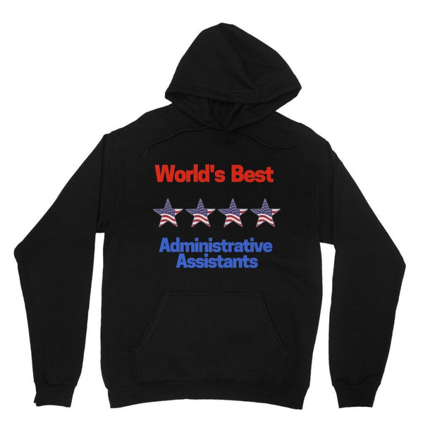 Administrative Assistants Heavy Blend Hooded Sweatshirt Xs / Black Apparel
