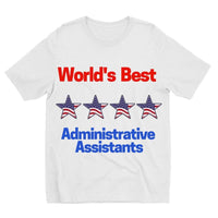 Administrative Assistants Kids Sublimation T-Shirt 3-4 Years Apparel