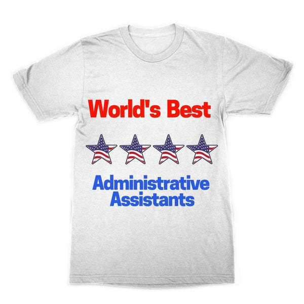 Administrative Assistants Sublimation T-Shirt Xs Apparel