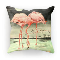 Adventures With Animals 1948 Cushion Faux Suede / 12X12 Homeware