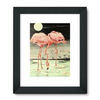 Adventures With Animals 1948 Framed Fine Art Print 18X24 / Black Wall Decor