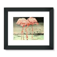 Adventures With Animals 1948 Framed Fine Art Print 32X24 / Black Wall Decor