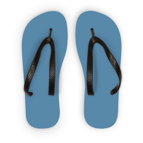 Air Force Blue Color Flip Flops S Accessories