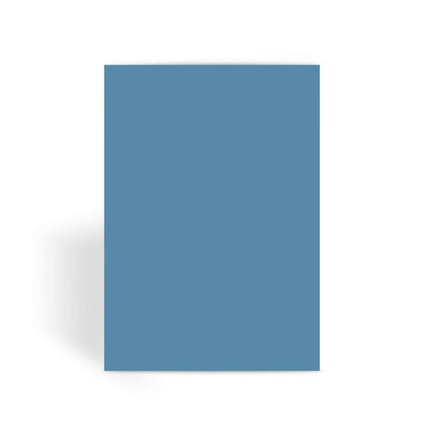 Air Force Blue Color Greeting Card 1 Prints