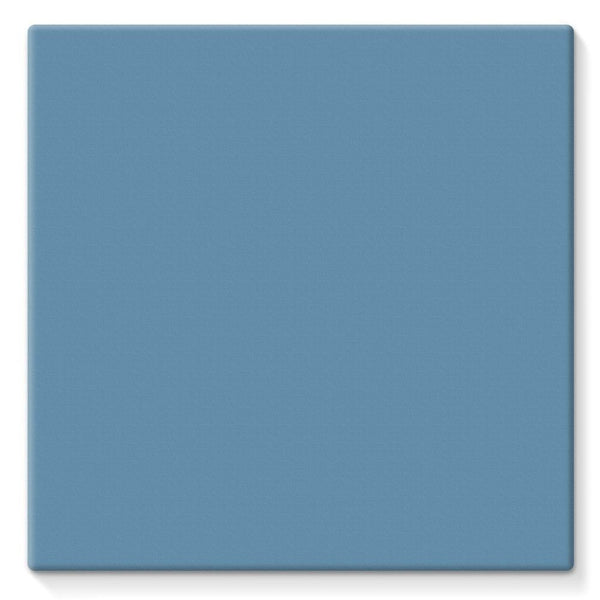 Air Force Blue Color Stretched Canvas 10X10 Wall Decor