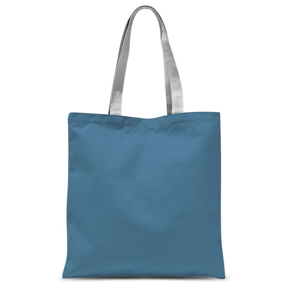 Air Force Blue Color Sublimation Tote Bag 15X16.5 Accessories