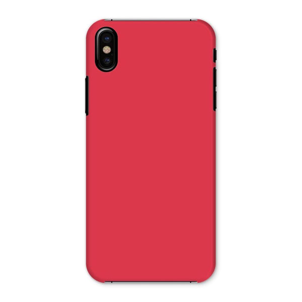 Amaranth Red Color Phone Case Iphone X / Snap Gloss & Tablet Cases