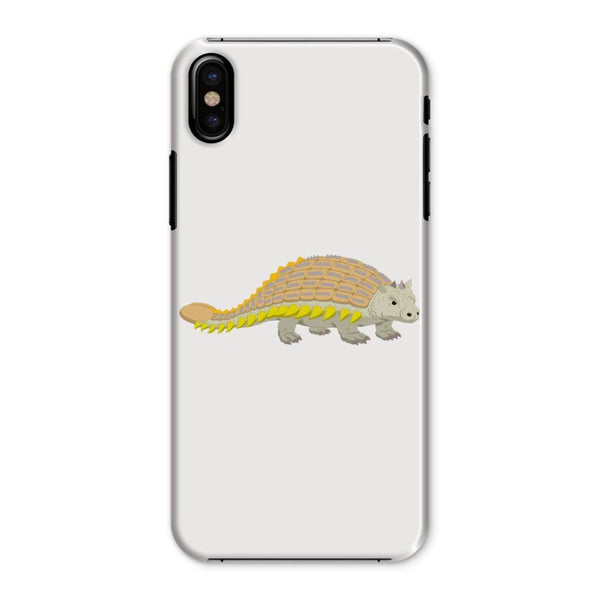Ankylosaurio Dinosaur Phone Case Iphone X / Snap Gloss & Tablet Cases