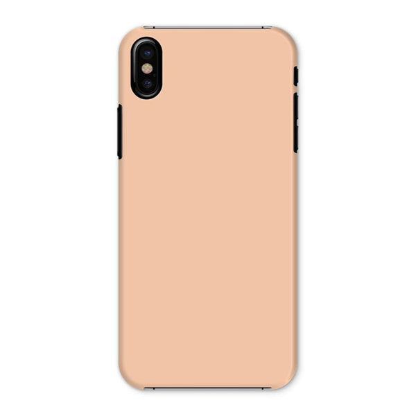 Apricot Peach Color Phone Case Iphone X / Snap Gloss & Tablet Cases