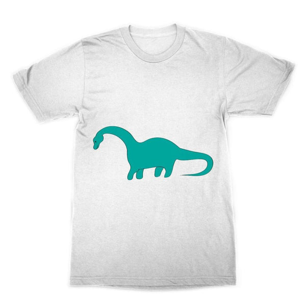 Aquamarine Dinosaur Sublimation T-Shirt Xs Apparel