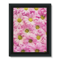 Arrangement Pink Blossoms Framed Eco-Canvas 18X24 Wall Decor