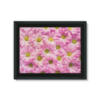 Arrangement Pink Blossoms Framed Eco-Canvas 24X18 Wall Decor