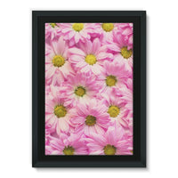Arrangement Pink Blossoms Framed Eco-Canvas 24X36 Wall Decor