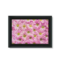Arrangement Pink Blossoms Framed Eco-Canvas 36X24 Wall Decor