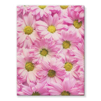 Arrangement Pink Blossoms Stretched Canvas 24X32 Wall Decor
