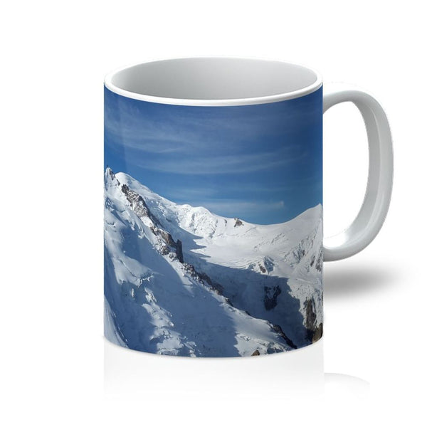 Awesome Snowy Mont Blanc Mug 11Oz Homeware