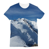 Awesome Snowy Mont Blanc Sublimation T-Shirt S Apparel