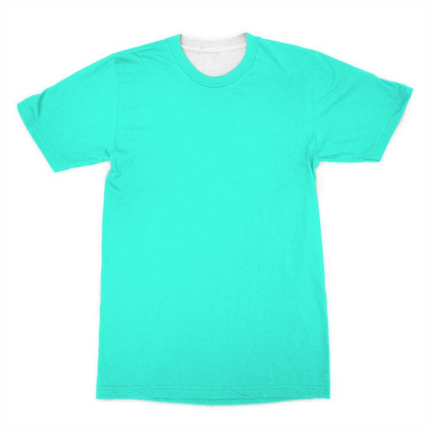 Baby Blue Color Sublimation T-Shirt Xs Apparel