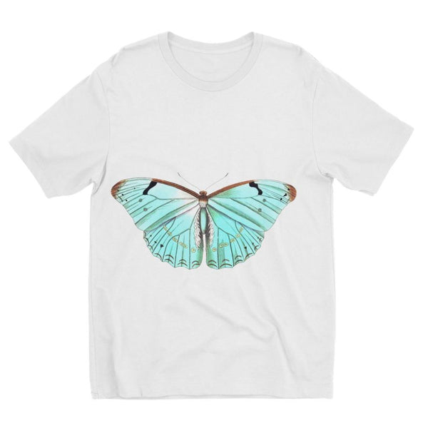 Baby Green Butterfly Kids Sublimation T-Shirt 3-4 Years Apparel