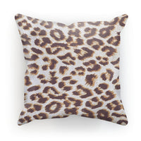 Background Of Animal Print Cushion Canvas / 12X12 Homeware