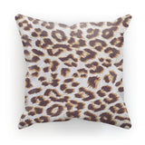 Background Of Animal Print Cushion Canvas / 18X18 Homeware