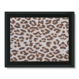 Background Of Animal Print Framed Canvas 16X12 Wall Decor