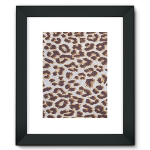 Background Of Animal Print Framed Fine Art Print 12X16 / Black Wall Decor