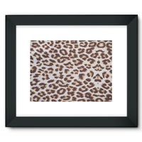 Background Of Animal Print Framed Fine Art Print 16X12 / Black Wall Decor