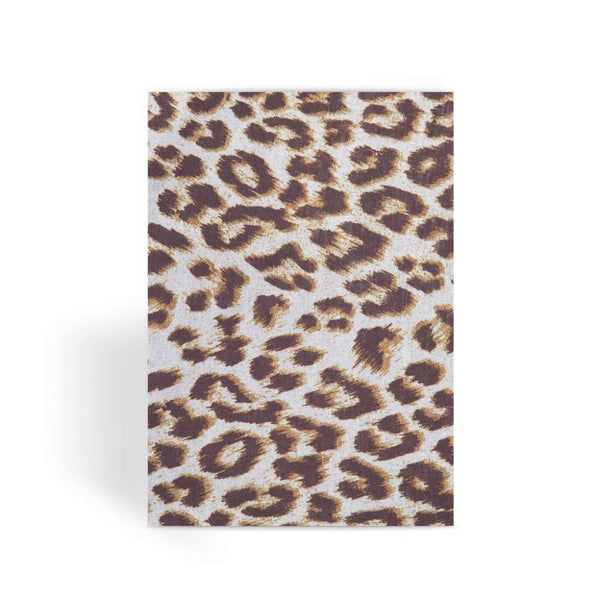 Background Of Animal Print Greeting Card 1 Prints