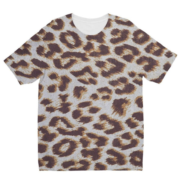Background Of Animal Print Kids Sublimation T-Shirt 3-4 Years Apparel