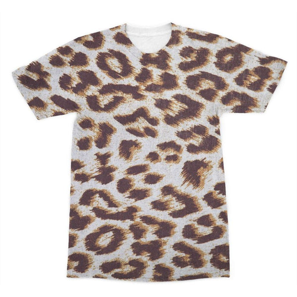 Background Of Animal Print Sublimation T-Shirt Xs Apparel