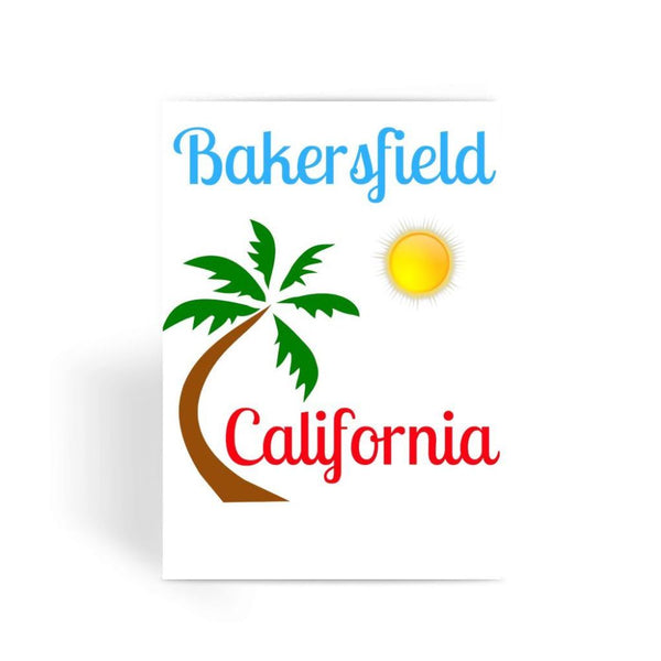 Bakersfield California Greeting Card 1 Prints