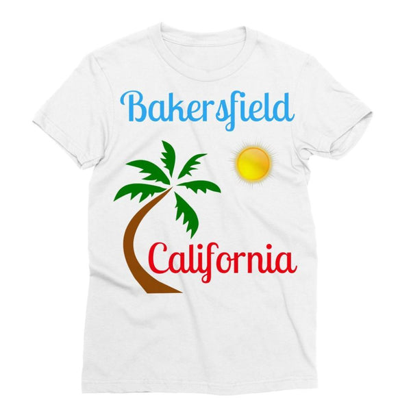 Bakersfield California Sublimation T-Shirt S Apparel