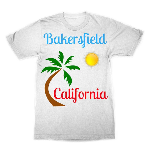 Bakersfield California Sublimation T-Shirt Xs Apparel