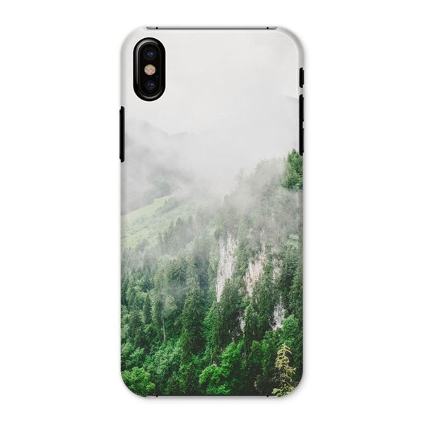 Bavarian Germany Foggy Phone Case Iphone X / Snap Gloss & Tablet Cases