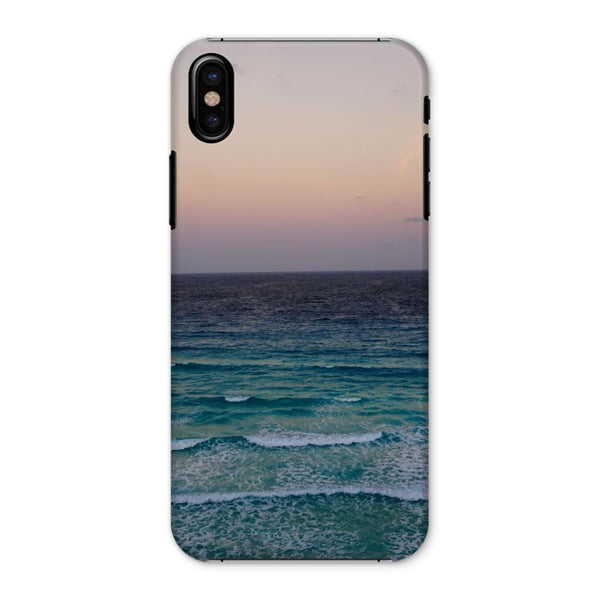 Beach And Sky At Sunset Time Phone Case Iphone X / Snap Gloss & Tablet Cases
